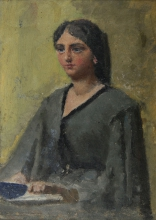 Daniele Ranzoni, Ritratto di donna