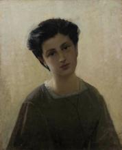 Daniele Ranzoni, Ritratto di giovane donna