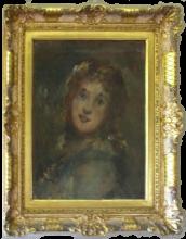 Daniele Ranzoni, Ritratto femminile