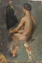 Daniele Ranzoni, Studio di figure