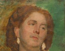 Daniele Ranzoni, Testa di donna