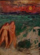 Redon, Adamo ed Eva | Adam et Eve | Adam and Eve