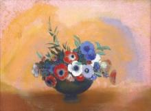 Redon, Gli anemoni | Les anémones | The anemones