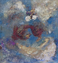 Redon, La lotta con il drago | Der Kampf mit dem Drachen | Le combat avec le dragon | Battle with the dragon