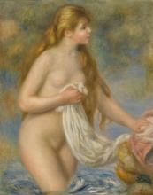 Renoir, Bagnante dai capelli lunghi.jpg
