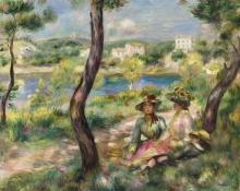 Renoir, Beaulieu, donne e ragazzino.jpg