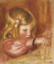 Renoir, Claude Renoir che gioca alle costruzioni.jpg