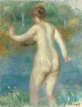 Renoir, Donna nuda che entra nell'acqua.jpg