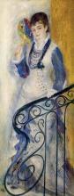 Renoir, Donna su una scalinata.jpg
