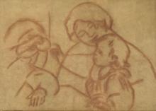 Renoir, Gabrielle con Jean Renoir e una ragazzina.jpg