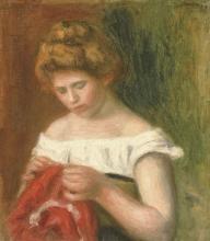 Renoir, Giovane donna che cuce.jpg