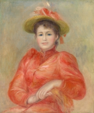 Renoir, Giovane donna in abito rosso.jpg