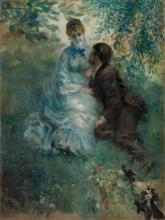 Pierre-Auguste Renoir, Gli amanti | Les amoureux | Milenci | The lovers