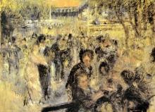 Renoir, Il Moulin de la Galette. Studio preliminare