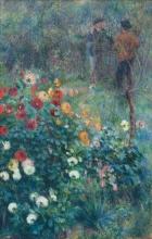 Renoir, Il giardino in rue Cortot, Montmartre | Le jardin de la rue Cortot, Montmartre | The garden in the rue Cortot, Montmartre