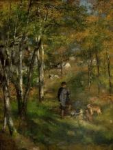 Renoir, Il pittore Le Coeur che caccia nella foresta di Fontainebleau.jpg