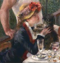 Renoir, Il pranzo dei canottieri [dettaglio 1].png
