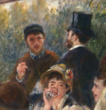 Renoir, Il pranzo dei canottieri [dettaglio 5].png
