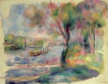 Renoir, La Senna, Argenteuil | La Seine, Argenteuil | The Seine, Argenteuil
