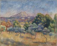 Renoir, La montagna Sainte Victoire.png