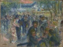 Renoir, Le Moulin de la Galette. Studio | Le Moulin de la Galette. Étude | Le Moulin de la Galette. Study