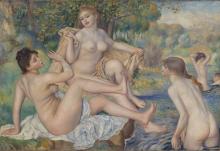 Renoir, Le grandi bagnanti | Les grandes baigneuses | The large bathers