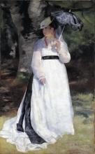 Pierre-Auguste Renoir, Lise - La donna con l'ombrello | Lise – La femme à l'ombrelle | Lise mit dem Sonnenschirm
