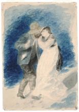 Renoir, M. Jules Le Coeur e Mlle. Clemence Trehot.jpg
