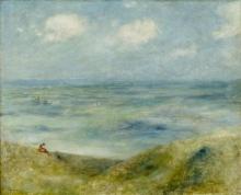 Pierre-Auguste Renoir, Marina   Marine   Seascape   Blick aufs Meer