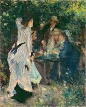 Renoir, Nel giardino. Sotto il pergolato al Moulin de la Galette.jpg