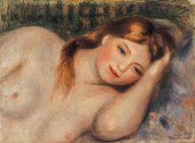 Renoir, Nudo (Busto di ragazza sdraiata).png