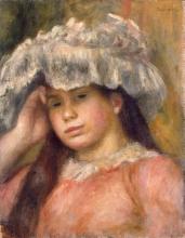 Renoir, Ragazza col cappello [1892-94 circa].jpg