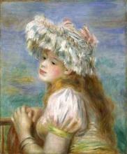 Renoir, Ragazza con cappello di pizzo.jpg