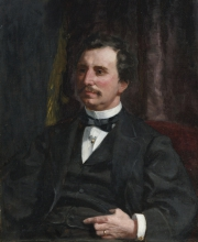 Pierre-Auguste Renoir, Ritratto del colonnello Howard Jenks | Portrait du colonel Howard Jenks