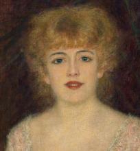 Renoir, Ritratto dell'attrice Jeanne Samary [1878][dettaglio].png