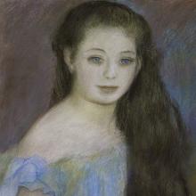 Renoir, Ritratto di ragazza dagli occhi azzurri [particolare].jpg