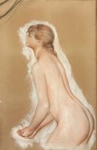 Renoir, Studio per « Le grandi bagnanti ». Figura che lancia l'acqua.jpg