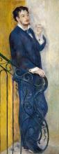 Renoir, Uomo su una scalinata.jpg