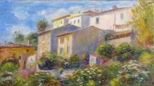 Renoir, Veduta della posta a Cagnes   Vue de la poste à Cagnes   View of the post office in Cagnes