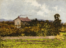 Enrico Reycend, Casa nella campagna | House in the countryside