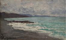 Enrico Reycend, Paesaggio Marino