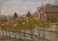 Enrico Reycend, Villa della Regina