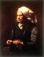 Ribot, Anziana bretone | Vieille bretonne | Breton old woman | Anciana bretona