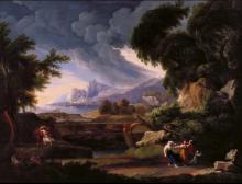Pietro Ronzoni, Paesaggio con tempesta