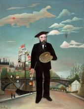 Henri Rousseau, Me stesso: ritratto-paesaggio   Myself: portrait-landscape