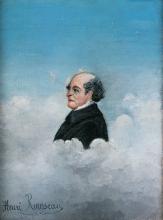 Rousseau Henri, Ritratto del padre dell'artista | Portrait du père de l'artiste | Portrait of the father of the artist | Retrato del padre del artista