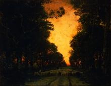 Rousseau Théodore, Foresta di Fontainebleau | Forêt de Fontainebleau | Forest of Fontainebleau