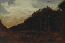 Rousseau Théodore, Il limitare del bosco | La lisière du bois | The edge of the wood