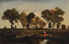 Théodore Rousseau Théodore, Lo stagno | La mare | The pond