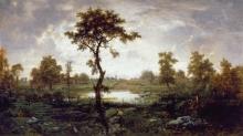 Rousseau Théodore, Scena forestale | Scène de forêt | Woodland scene